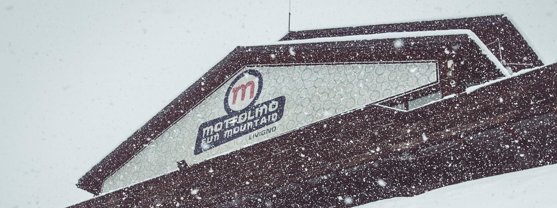 Vista sulla sede Mottolino Fun Mountain a Livigno