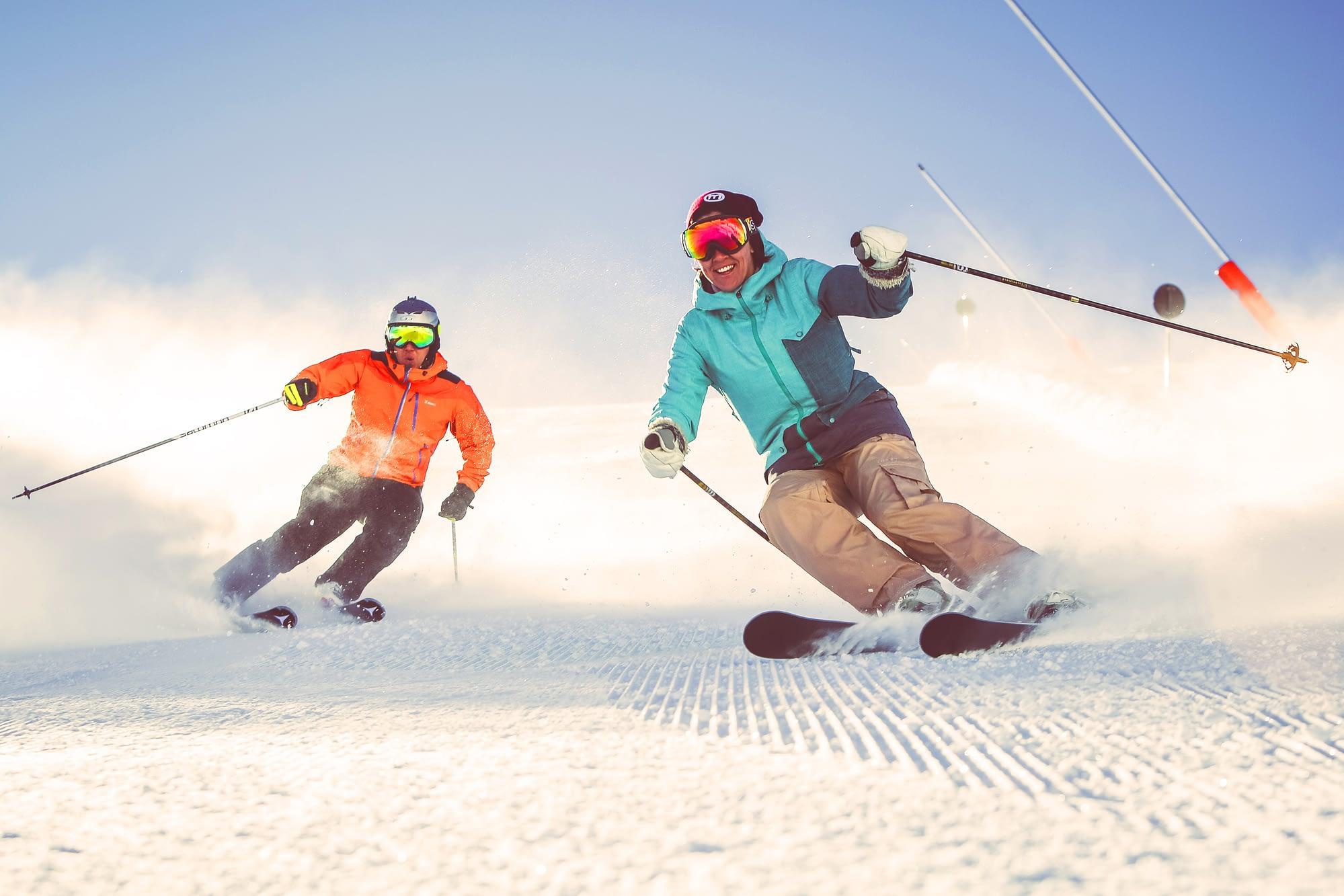 Sci alpino a Livigno
