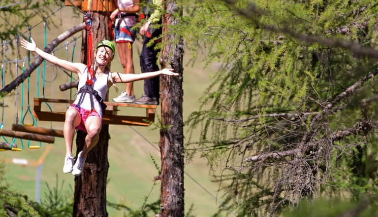 Larix Park, vacanze nel parco naturale