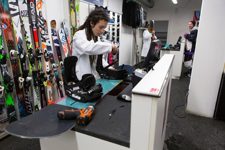 Noleggio snowboard presso dr. Rent