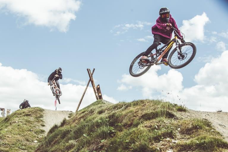 Bikepass free a Livigno: riders in azione