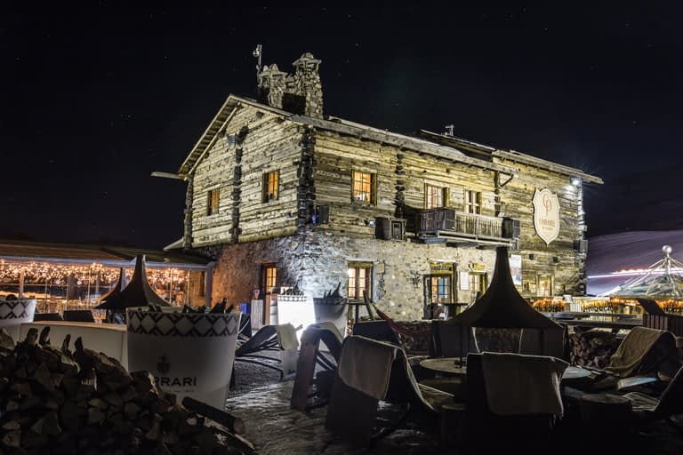 cena al Camanel di Livigno