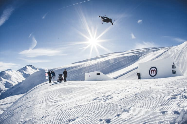 Attrazioni allo Snowpark di Livigno (Mottolino)