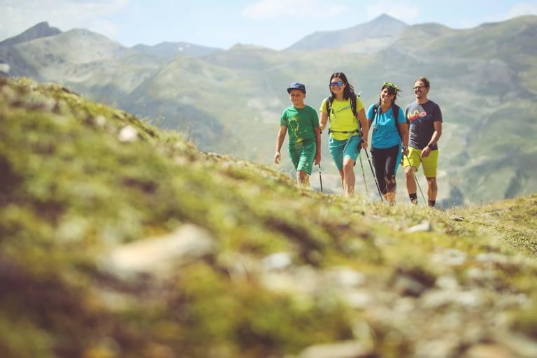 Escursioni in famiglia in estate sulel A,pi