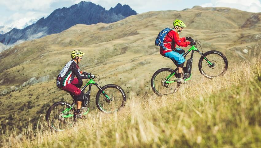 Noleggio E-bike standard al Dr. Rent di Mottolino a Livigno