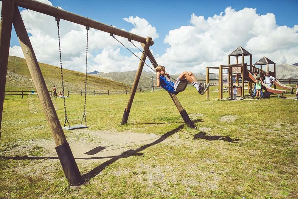 Parco giochi per bambini a Livigno