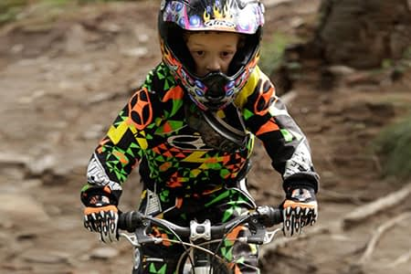 bambini diventano riders sul Mottolino