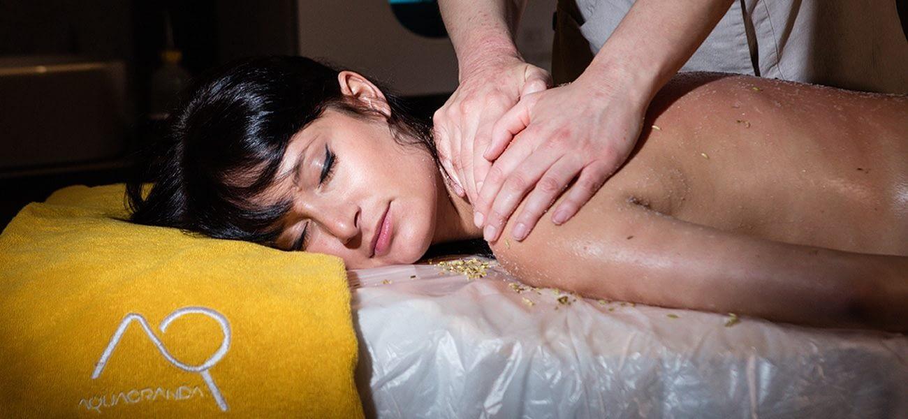 Massaggio relax all'Aquagranda di Livigno