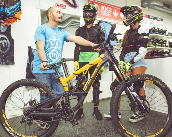 Noleggio bike Dr. Rent Mottolino Livigno