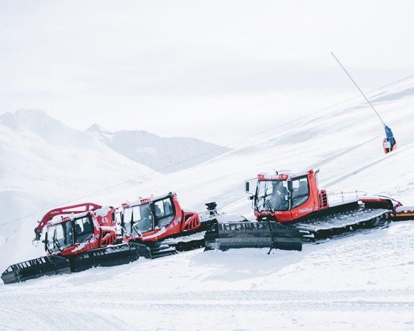 Gattisti della ski area Mottolino a Livigno