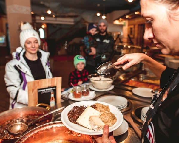 Varie offerte culinarie nella ski area Mottolino a Livigno